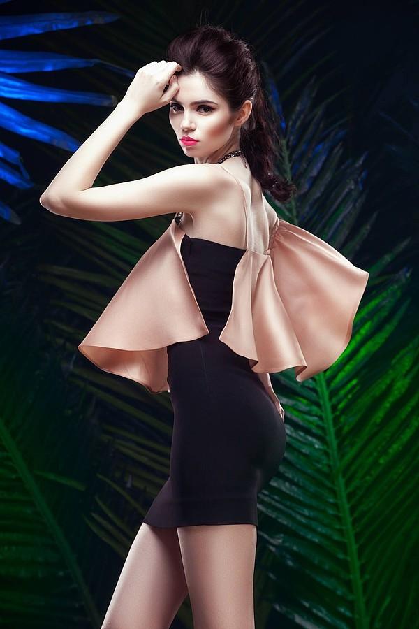 Ana Maria Ilinca model. Photoshoot of model Ana Maria Ilinca demonstrating Fashion Modeling.Make-up: Cristina DavidHairstyle: Ana Maria SimoiuFashion Modeling Photo #135279