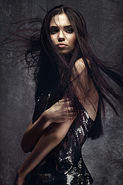 Ana Maria Ilinca model. Photoshoot of model Ana Maria Ilinca demonstrating Face Modeling.Face Modeling Photo #94661
