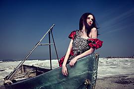 Ana Maria Ilinca model. Photoshoot of model Ana Maria Ilinca demonstrating Editorial Modeling.Editorial Modeling Photo #94696