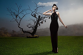 Ana Maria Ilinca model. Photoshoot of model Ana Maria Ilinca demonstrating Editorial Modeling.Editorial Modeling Photo #94710