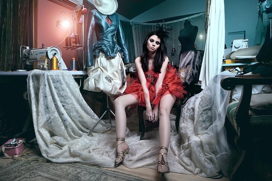 Ana Maria Ilinca model. Photoshoot of model Ana Maria Ilinca demonstrating Editorial Modeling.Daniel IlincaEditorial Modeling Photo #94708
