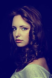 Anastasia Bondareva model (модель). Photoshoot of model Anastasia Bondareva demonstrating Face Modeling.Face Modeling Photo #102948