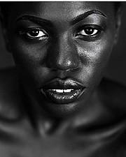 Anastasia Cobbinah model. Photoshoot of model Anastasia Cobbinah demonstrating Face Modeling.Face Modeling Photo #167571