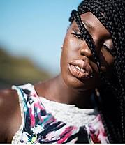Anastasia Cobbinah model. Photoshoot of model Anastasia Cobbinah demonstrating Face Modeling.Face Modeling Photo #167581
