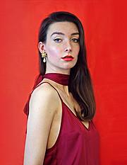Anastasia Ivleva model. Photoshoot of model Anastasia Ivleva demonstrating Face Modeling.Face Modeling Photo #171773