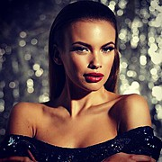 Anastasia Plewka Guseva model. Photoshoot of model Anastasia Plewka Guseva demonstrating Face Modeling.Face Modeling Photo #136710