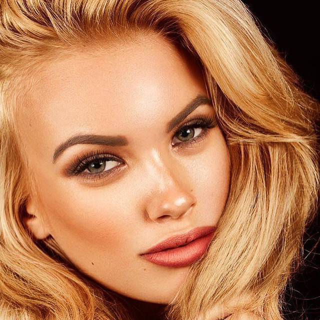 Anastasia Plewka Guseva model. Photoshoot of model Anastasia Plewka Guseva demonstrating Face Modeling.Face Modeling Photo #136711