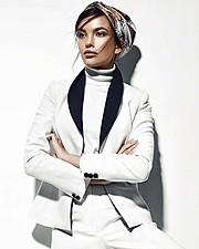 Anastasia Plewka Guseva model. Photoshoot of model Anastasia Plewka Guseva demonstrating Fashion Modeling.Fashion Modeling Photo #180124