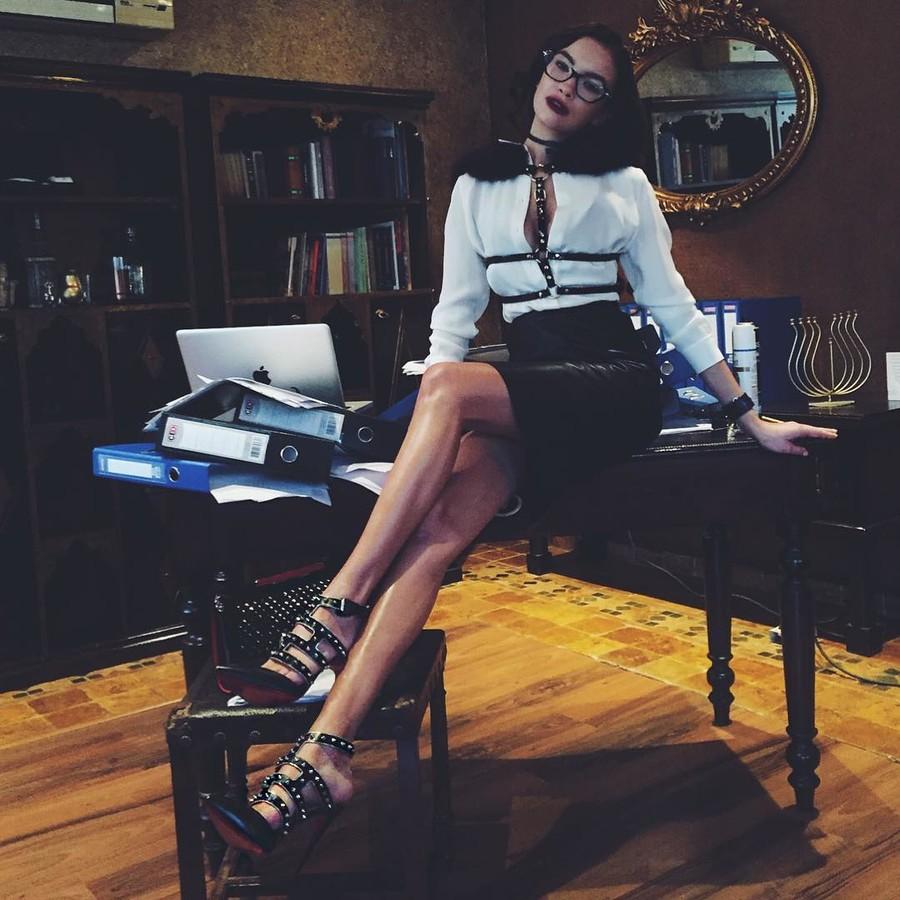 Anastasia Plewka Guseva model. Photoshoot of model Anastasia Plewka Guseva demonstrating Editorial Modeling.Editorial Modeling Photo #174521