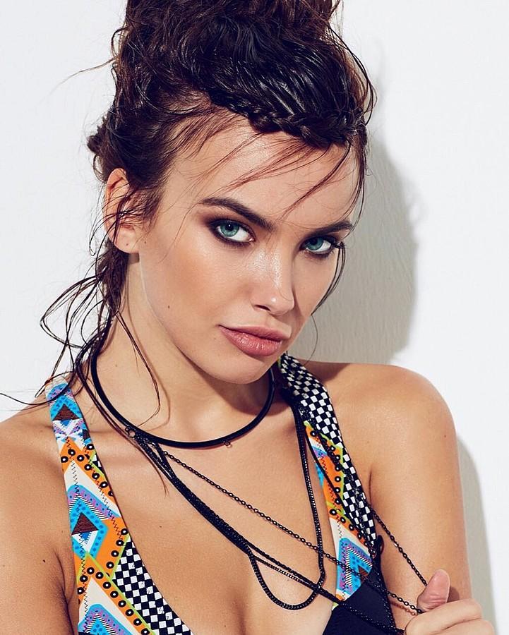 Anastasia Plewka Guseva model. Photoshoot of model Anastasia Plewka Guseva demonstrating Face Modeling.Face Modeling Photo #174524