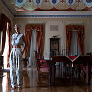 Anastasia Syrianou model (μοντέλο). Photoshoot of model Anastasia Syrianou demonstrating Fashion Modeling.Fashion Modeling Photo #226129