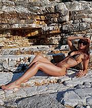 Anastasia Syrianou model (μοντέλο). Photoshoot of model Anastasia Syrianou demonstrating Body Modeling.Body Modeling Photo #226138
