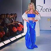 Anastasia Terzi model (Αναστασία Τερζή μοντέλο). Photoshoot of model Anastasia Terzi demonstrating Runway Modeling.Athens Xclusive Designers Week - AXDWRunway Modeling Photo #127928