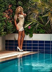 Η Αναστασία Τερζή είναι μοντέλο και τραγουδίστρια στην Αθήνα. Έχει αποφοιτήσει από το Τμήμα Επιστήμης Φυσικής Αγωγής και Αθλητισμού του Εθνι