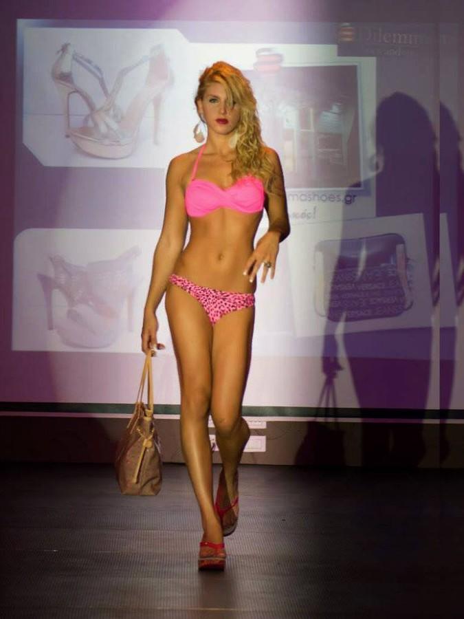Anastasia Terzi model (Αναστασία Τερζή μοντέλο). Photoshoot of model Anastasia Terzi demonstrating Runway Modeling.Runway Modeling Photo #127951