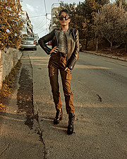 Anastasia Tswlh model (Αναστασία Τσώλη μοντέλο). Photoshoot of model Anastasia Tswlh demonstrating Fashion Modeling.Fashion Modeling Photo #205284