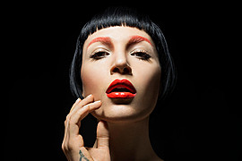 Andrea C Samuels makeup artist. Work by makeup artist Andrea C Samuels demonstrating Beauty Makeup.Beauty Makeup Photo #127762