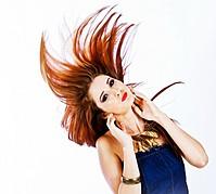 Andreea Lazar model. Photoshoot of model Andreea Lazar demonstrating Face Modeling.Face Modeling Photo #87619