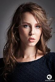 Andreea Raducu model. Andreea Raducu demonstrating Face Modeling, in a photoshoot by Andrei Ivan.photographer Andrei IvanFace Modeling Photo #134942