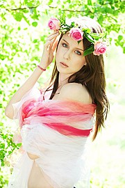 Andreea Raducu model. Photoshoot of model Andreea Raducu demonstrating Face Modeling.Face Modeling Photo #94743