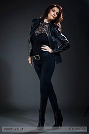 Andreea Zoia model. Andreea Zoia demonstrating Fashion Modeling, in a photoshoot by Avs Kumar.photographer Avs KumarFashion Modeling Photo #121236