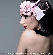 Andreea Zoia model. Photoshoot of model Andreea Zoia demonstrating Face Modeling.Face Modeling Photo #121286