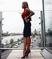 Anessa Kirova model (модель). Photoshoot of model Anessa Kirova demonstrating Fashion Modeling.Fashion Modeling Photo #173355