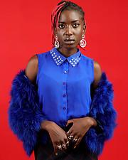 Angela Akoth model. Photoshoot of model Angela Akoth demonstrating Fashion Modeling.Fashion Modeling Photo #231655