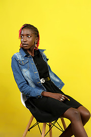 Angela Akoth is a model based in Nakuru, Kenya. She is interested in commercial modelling. She has not had any major experience of any kind