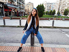 Angela Koumria model (μοντέλο). Photoshoot of model Angela Koumria demonstrating Fashion Modeling.Fashion Modeling Photo #215605