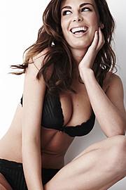 Angela Martini model & fashion designer. Photoshoot of model Angela Martini demonstrating Face Modeling.Face Modeling Photo #163168