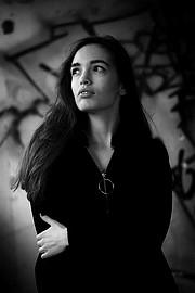 Angeliki Kokkali model (Αγγελική Κόκκαλη μοντέλο). Photoshoot of model Angeliki Kokkali demonstrating Face Modeling.Face Modeling Photo #207449