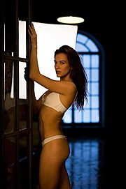 Anhen Bogomazova model (Анхен Богомазова модель). Photoshoot of model Anhen Bogomazova demonstrating Body Modeling.Body Modeling Photo #167435