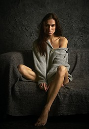 Anhen Bogomazova model (Анхен Богомазова модель). Photoshoot of model Anhen Bogomazova demonstrating Fashion Modeling.Fashion Modeling Photo #117719
