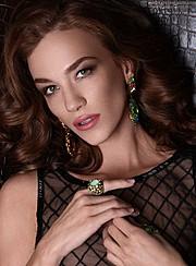 Anhen Bogomazova model (Анхен Богомазова модель). Photoshoot of model Anhen Bogomazova demonstrating Face Modeling.Face Modeling Photo #117737