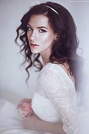 Anhen Bogomazova model (Анхен Богомазова модель). Photoshoot of model Anhen Bogomazova demonstrating Face Modeling.Face Modeling Photo #117742