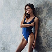 Anhen Bogomazova model (Анхен Богомазова модель). Photoshoot of model Anhen Bogomazova demonstrating Body Modeling.Body Modeling Photo #167434
