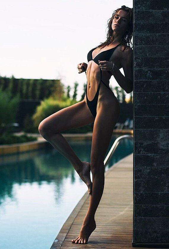 Anhen Bogomazova model (Анхен Богомазова модель). Photoshoot of model Anhen Bogomazova demonstrating Body Modeling.Body Modeling Photo #172808
