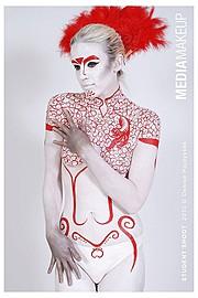 Anita Rutter makeup artist. makeup by makeup artist Anita Rutter. Photo #55299
