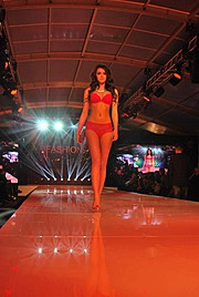 Anita Sikorska model (modelka). Photoshoot of model Anita Sikorska demonstrating Runway Modeling.Runway Modeling Photo #113782