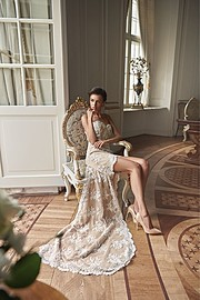 Anita Sikorska model (modelka). Photoshoot of model Anita Sikorska demonstrating Fashion Modeling.Wedding GownFashion Modeling Photo #185797