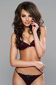 Anita Sikorska model (modelka). Photoshoot of model Anita Sikorska demonstrating Body Modeling.Body Modeling Photo #96091