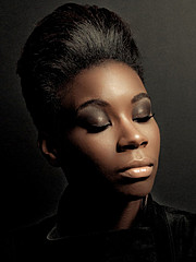 Anjeh Bourne makeup artist. Work by makeup artist Anjeh Bourne demonstrating Beauty Makeup.Beauty Makeup Photo #101064