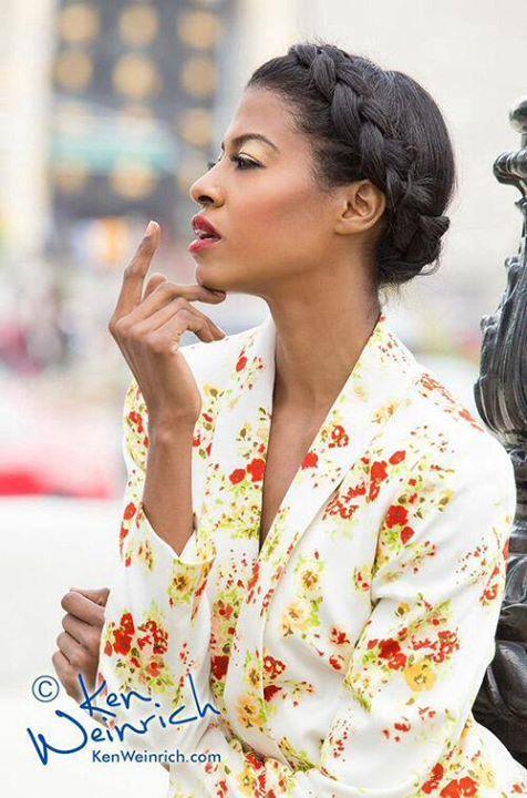 Anjeh Bourne makeup artist. Work by makeup artist Anjeh Bourne demonstrating Beauty Makeup.Beauty Makeup Photo #101082