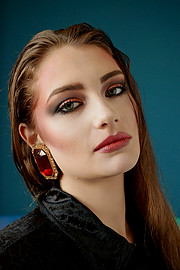 Anna Chrisostomou makeup artist (Άννα Χρυσοστόμου μακιγιέρ). Work by makeup artist Anna Chrisostomou demonstrating Beauty Makeup.Beauty Makeup Photo #202024