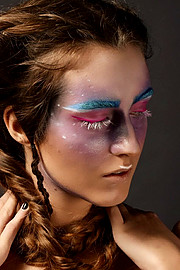 Anna Chrisostomou makeup artist (Άννα Χρυσοστόμου μακιγιέρ). Work by makeup artist Anna Chrisostomou demonstrating Creative Makeup.Creative Makeup Photo #202028