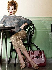 Anna Fedorovna Albertin model & makeup artist. Photoshoot of model Anna Fedorovna Albertin demonstrating Fashion Modeling.Fashion Modeling Photo #164419