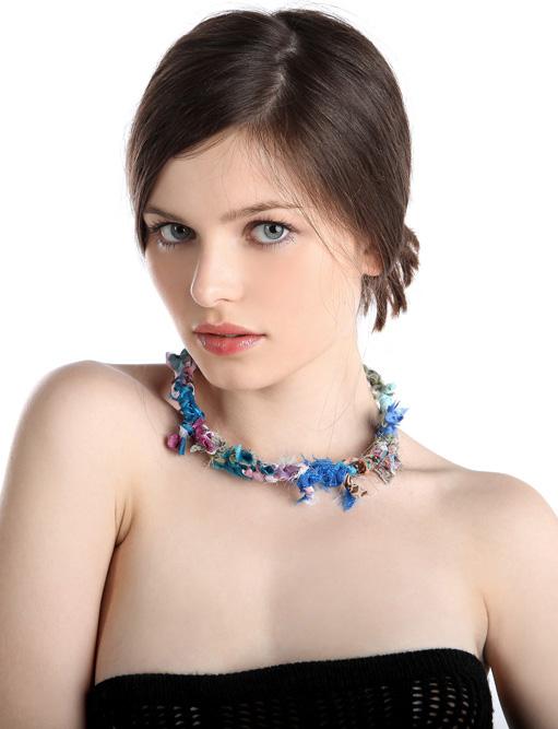 Anna Grzelczak model (modelka). Photoshoot of model Anna Grzelczak demonstrating Face Modeling.Face Modeling Photo #104642