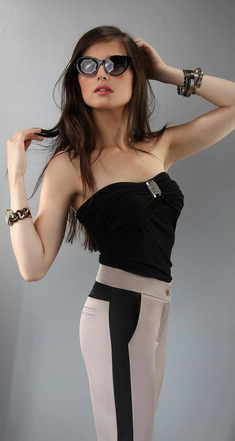 Anna Grzelczak model (modelka). Photoshoot of model Anna Grzelczak demonstrating Fashion Modeling.fot. Ilona Ejsmontclothes: Sigma4youFashion Modeling Photo #104644
