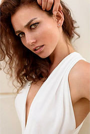 Anna Haholkina is a Ukrainian photomodel and actress currently based in Italy. Her modeling experience includes works for